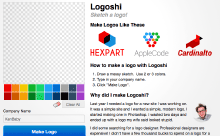 Logoshi - make a logo