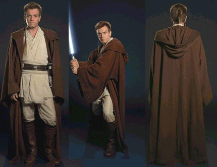How to make a jedi robe this tunic will provide the appearance of a jedi v neck solutioingenieria Choice Image